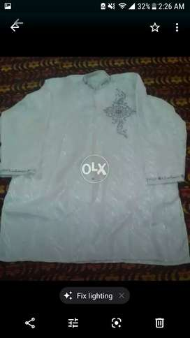 Heavy size 1 sherwani suit and kafi  qameez shalwar suit hy