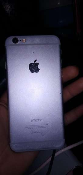 Iphone 6 with charger full saaf set haa