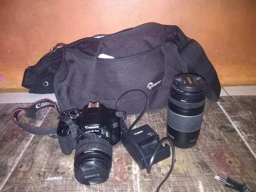 Banyak Bonus nih Canon 1300D + 2 lensa 0