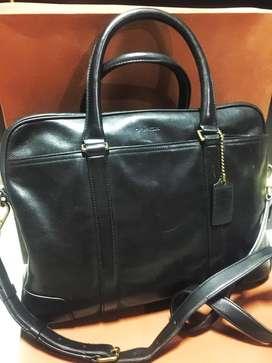 Tas Briefcase Pria Coach