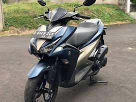 Yamaha aerox S keyless,abs,idling stop 2018 tipe tertinggi