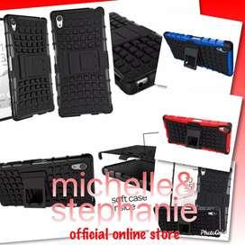 M&S ACCBEST124 - RUGGED ARMOR Sony Z5 / Z5+ Premium Dual Hardcase Soft