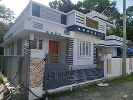 New build 3 bhk 900 sqft beautiful at alangad near puthiya road