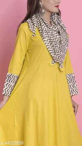 Anarkali Suit in yellow