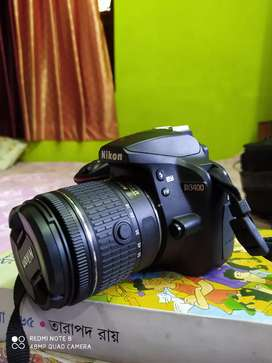 Nikon DSLR D3400 Camera with Duel Lens