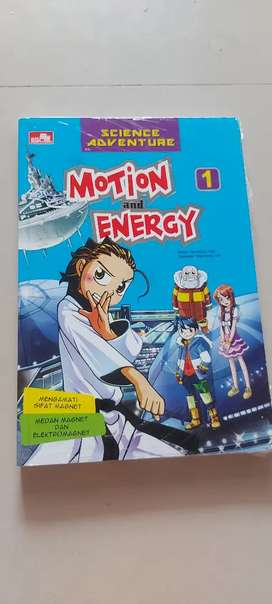 Buku science motion and energy
