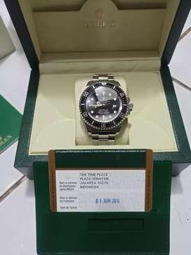 Rolex Deepsea Sea Dweller resmi beli di The Time Place Plaza Senayan
