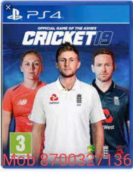 PS4 & PS5 Game Cricket 19 Available at disc price