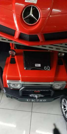 Mobil Aki mainan anak kendaraan Jeep American baru fset
