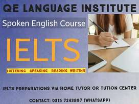IELTS PREPRATIONS AND ENGLISH LANGUAGE COURSE