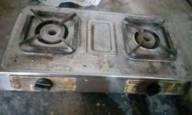 Two burner gas stove in good working condition