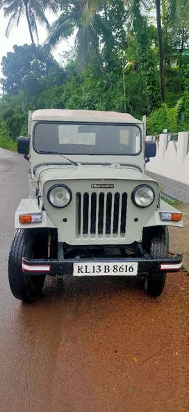 Mahindra Jeep 1996 Diesel Good Condition