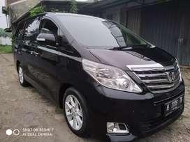 Dijual Toyota Alphard G ATPM 2012