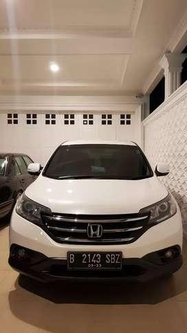 HONDA CRV WHITE RM3 2.4 YEAR 2013