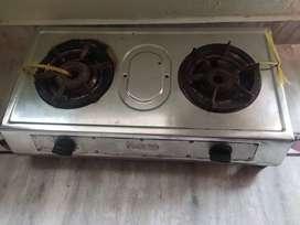 2 burners Gas oven