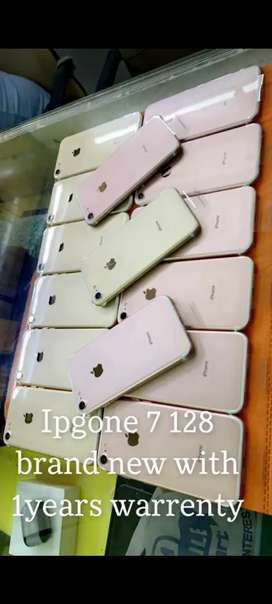New Iphone 7 128GB only phone