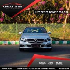 Mercedes-Benz E-Class E250 CDI Avantgarde, 2016, Diesel