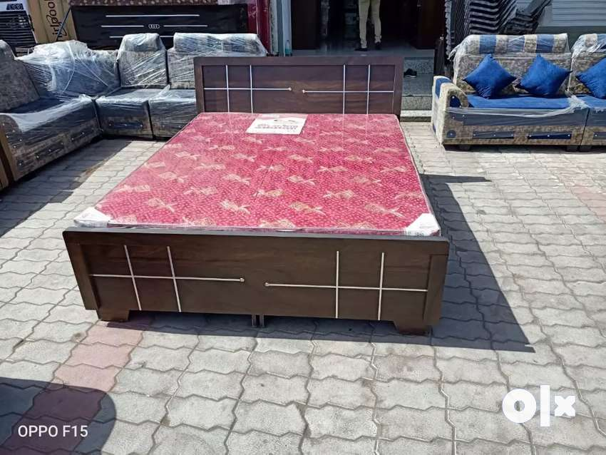 Brand New Box Bed size :5*6 Only  Rs:7499/- 0