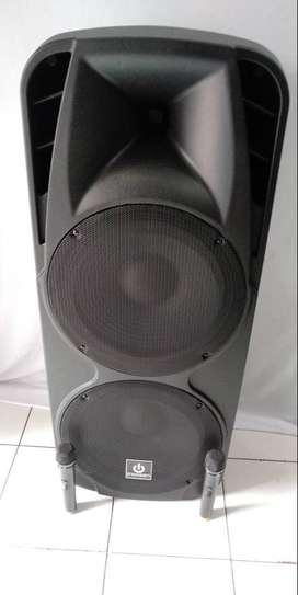 Speaker Portable Amplifier wireless meeting Bluetooth DOBEL 15