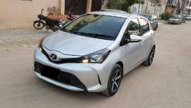 Toyota Vitz 2014 On Easy Monthly installments
