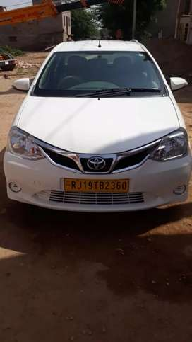 Toyota Etios in very gud condition... Taxi passing... 2015 model.....