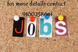 Required male and female for Receptionist