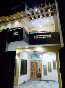 6.5 marla brand new House for sale in bilal town street no 14
