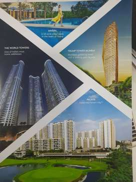 2bhk luxurious township with all aminities at majiwada