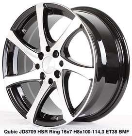 QUBIC JD8709 HSR R16X7 H8X100-114,3 ET38 BMF