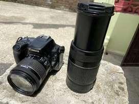 Canon 200d dslr camera dual lens