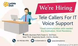 Need Telecalling Executives (both freshers and Experienced)
