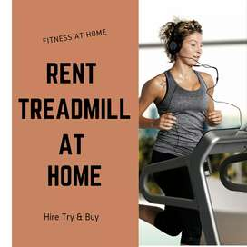Treadmill, Exercise cycle, Gym Fitness Equipment on rent in Gurgaon