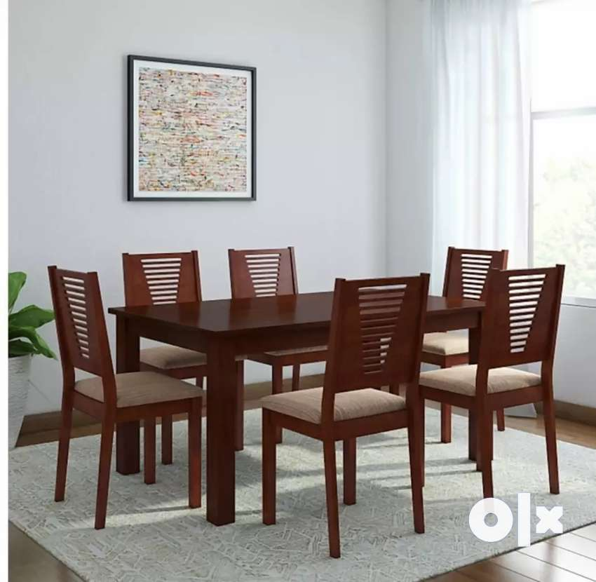 6 seater dining table set 0