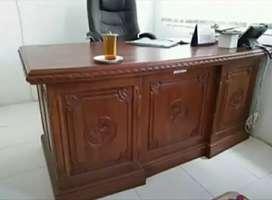 Sedia meja kantor ukir#2153
