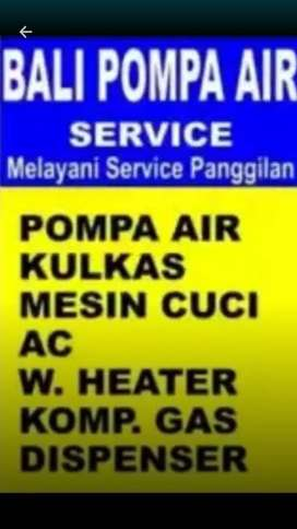 Wy Service Pompa Air. Mesin cuci. kulkas. AC. Water heater. kompor gas