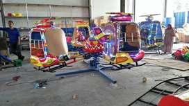 pabrik mainan anak komedi putar helikopter odong pasar malam 11