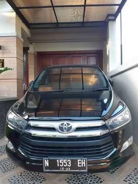 Toyota kijang Innova reborn G lux 2018 hitam, plat N tgn 1 baru
