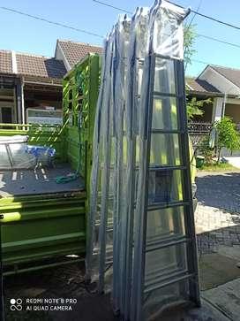 Gudang tangga aluminium harga grosir.. Ready banyak