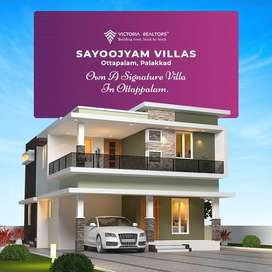 5 Mins Drives From Ottapalam Railway Station-Brand New Villa For Sale