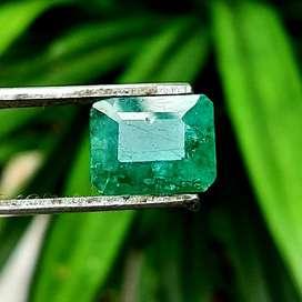 Natural Emerald / Zamrud Colombia 10.20 ct