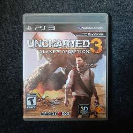 BD PS3 Uncharted 3 PS3 Second (R2)