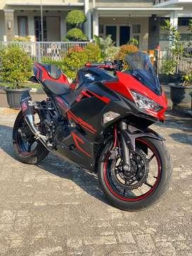 ninja 250 2018 se abs full modifikasi low km