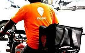 hiring delivery boys for swiggy