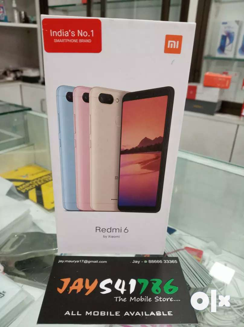 Redmi 6 32gb it's brand new 0