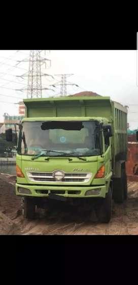 Hino lohan dumptruk 22m³ fm260jd 2008 8unit kondisi masih operasional