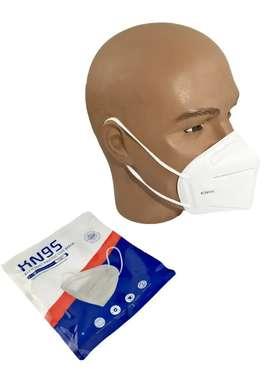 Masker Duckbill kn96 kawat dalam Putih