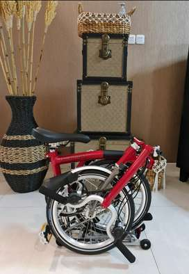 BROMPTON M6RX HOUSE RED
