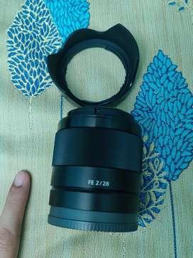 Sony FE 28 F2 prime lens for apsc and full frame camera