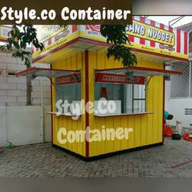CONTAINER CAFE KEDAI| BOOTH CONTAINER CUSTOM | CONTAINER USAHA KULINER