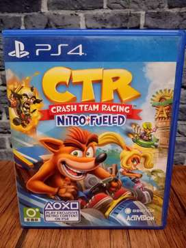 BD PS4 Crash Team Racing CTR Nitro Fueled 2nd .. game cd kaset bluray